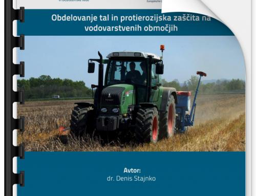 Obdelava tal in protierozijska zaščita na vodovarstvenih območjih