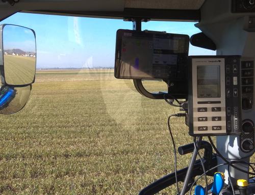 Testiranje učinkovitost gnojenja z uporabo satelitske navigacije