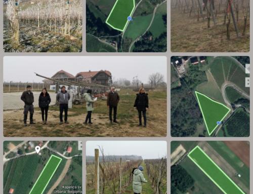 """EIP projekt: """"Uvedba novih mehanskih in avtonomnih avtomatiziranih tehnologij za trajnostno pridelavo grozdja v vinogradih"""""""