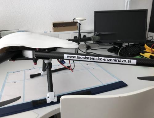 """Pilotni EIP projekt: """" Spremljanje sprememb na rastlinah s pomočjo meritev brezpilotnega letalnika…"""""""